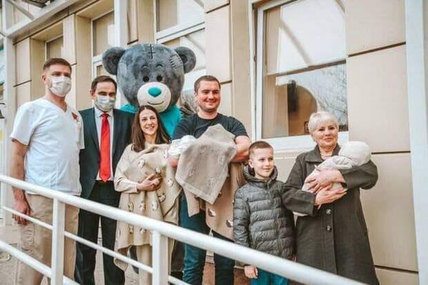 Ростовский перинатальный центр: +9 за три раза