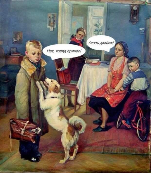 И смех и грех: тот самый лечебный коронавирусный юмор (21 фото)