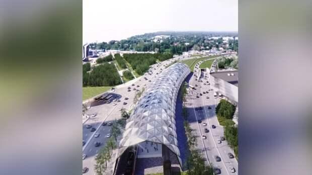 Железнодорожную станцию в стиле хай-тек возведут у «Лахта-центра»