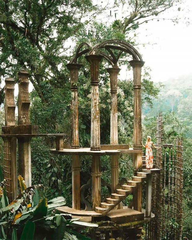 Лас-Посас: сюрреалистическая страна чудес посреди мексиканских джунглей