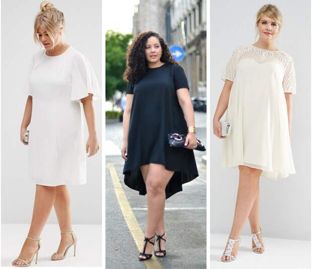 стильный гардероб полной женщине