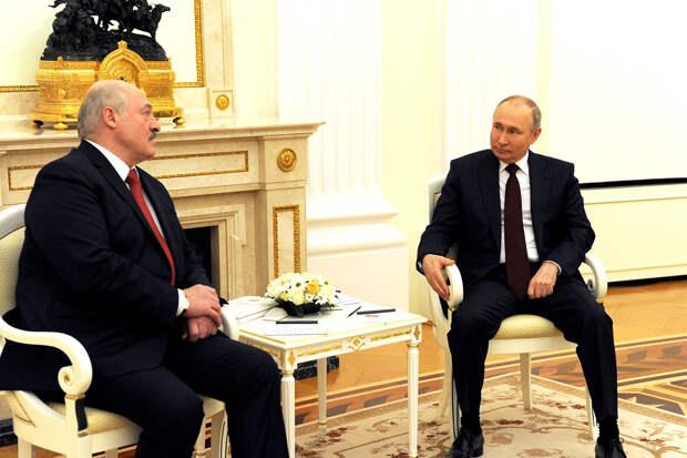 «Всплеск эмоций»: Путин высказался о событиях вокруг Белоруссии