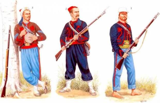 Нефранцузские зуавы