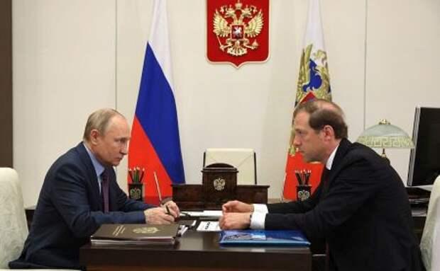 Путин заявил о восстановлении реального сектора экономики РФ