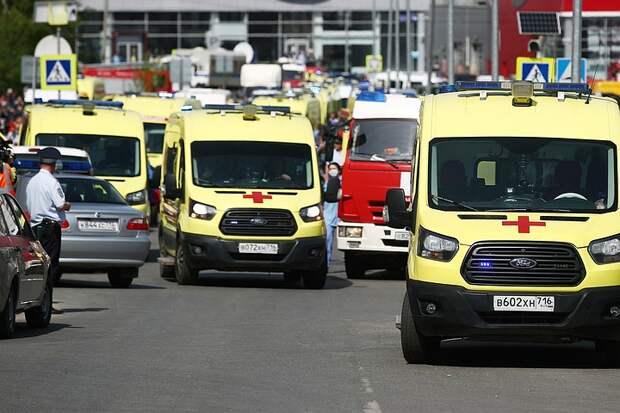 Мурашко: девятерых пострадавших при стрельбе в школе в Казани перевезут для лечения в Москву