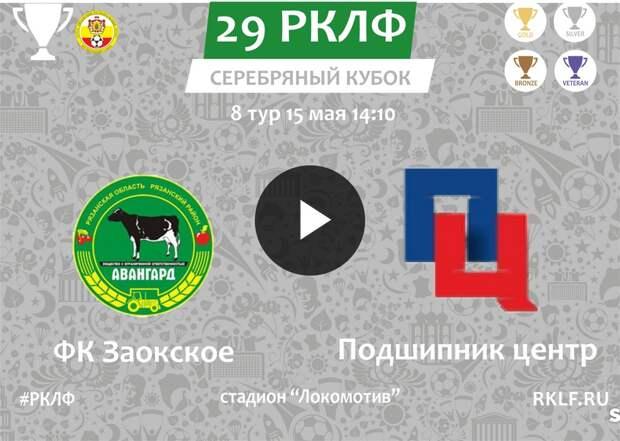29 РКЛФ Серебряный Кубок ФК Заокское - Подшипник центр 0:0