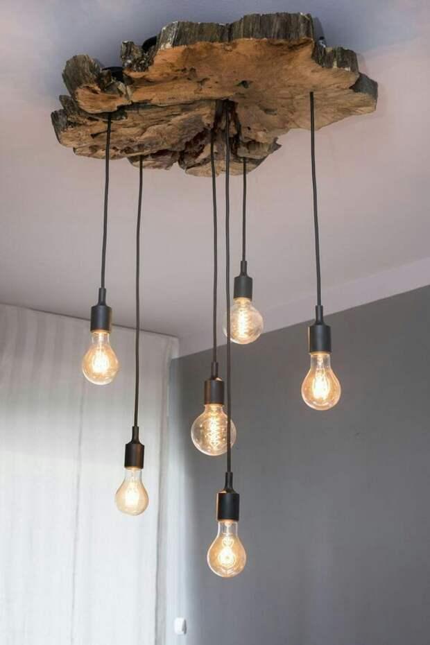Из простых лампочек и слэба