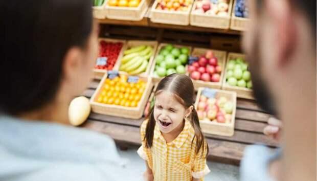 Что делать если ребенок постоянно кричит в магазине?