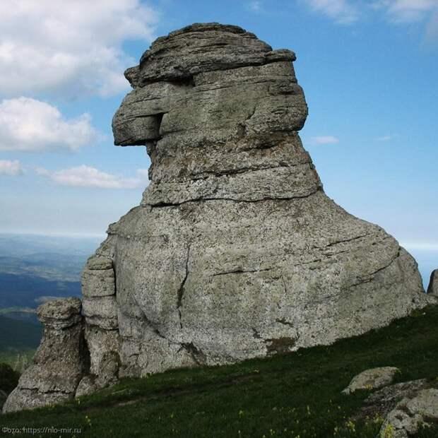 Древний сфинкс в Крыму