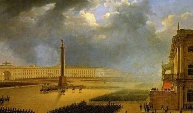 Артефакты другой истории. Александровская колонна