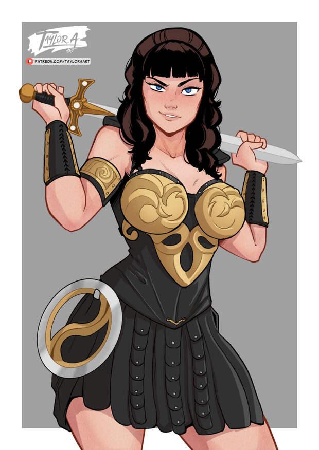 Зена Королева Воинов