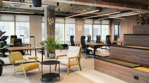 Офис компании Mercuryo.io – проект коллаборации Делателей.Офисов и дизайнера Екатерины Турбиной - «Интерьер»