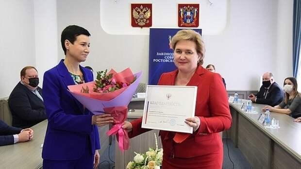 Донских медиков отметили благодарностями вЗаксобрании Ростовской области