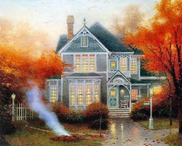 5 художников, влюбленных восень