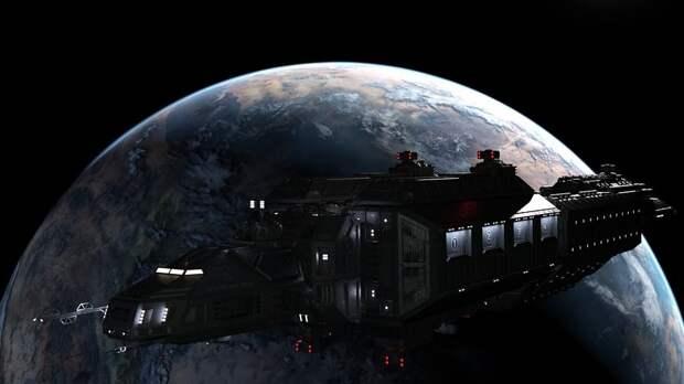 На орбите Земли находятся спутники инопланетян