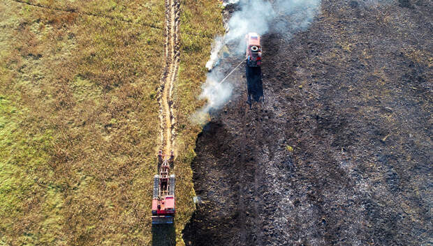 В Подмосковье закупили новую технику для борьбы с лесными пожарами