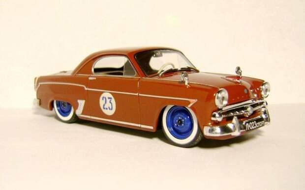 Москвич-407 купе авто, автодизайн, газ, запорожец, моделизм, модель, москвич, советские автомобили