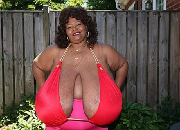 Американка стала миллионершей благодаря гигантской груди весом 59 килограмм грудь, миллионерша