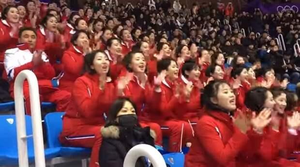 Как болеют девушки из КНДР (видео)