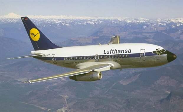 Боинг-737 – самый массовый пассажирский самолет