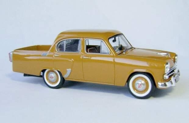 Москвич-407 пикап авто, автодизайн, газ, запорожец, моделизм, модель, москвич, советские автомобили