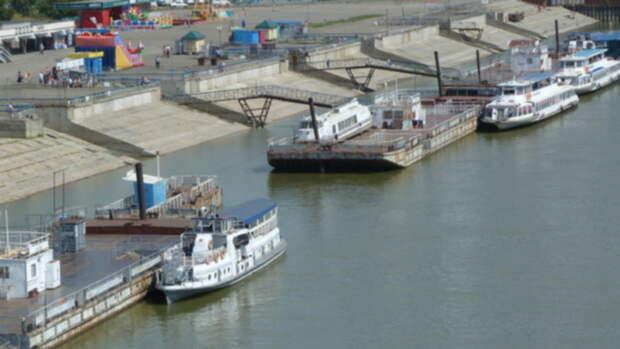 Уровень воды в реке Обь в районе Барнаула приближается к критической отметке