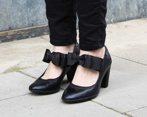 Банты на туфлях (Diy)