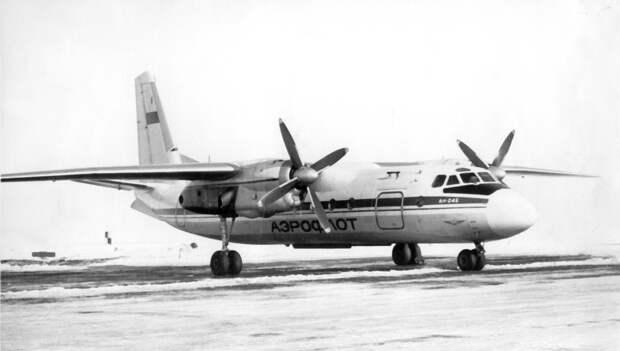 Картинки по запросу Ан-24РВ 1975