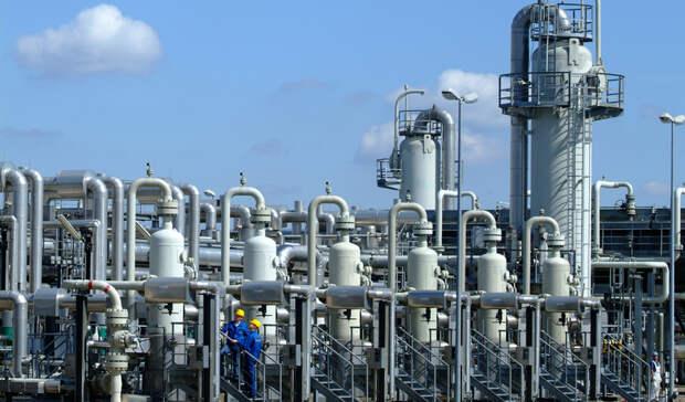 Самого низкого уровня запять лет достигли запасы газа вЕвропе