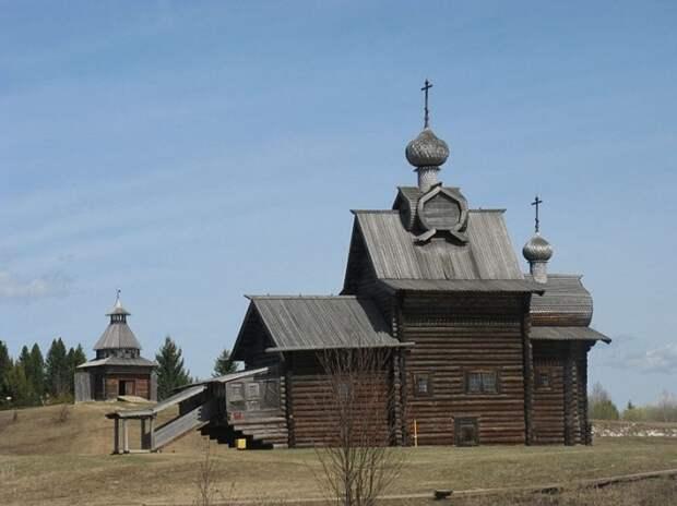 Церковь Преображения Господня в Пермском крае.