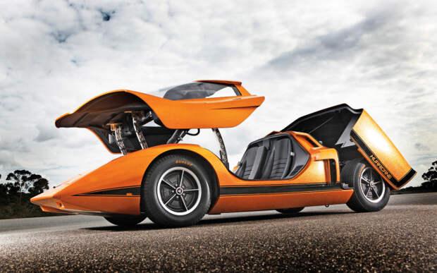 2. Holden Hurricane авто, автомобили будущего, уникальные автомобили