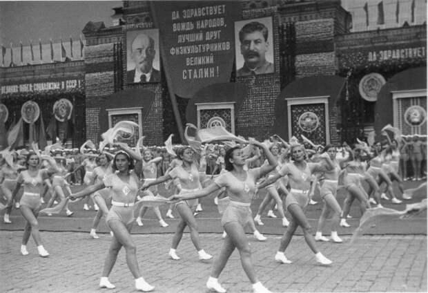 15 ретро фотографий советских физкультурников и спортсменов