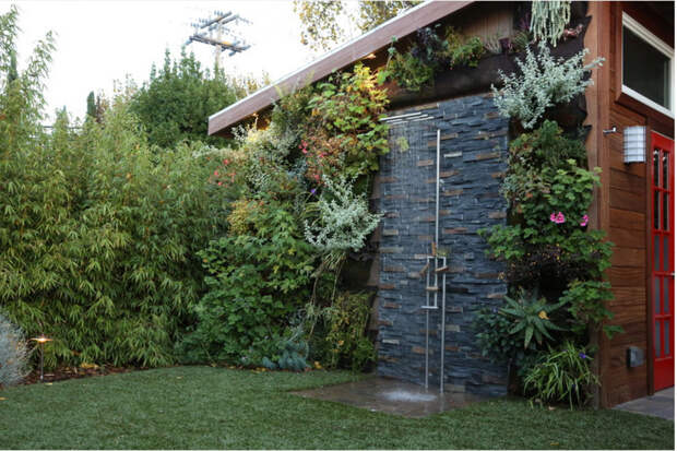 Дизайн сада и декор экстерьера