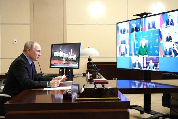 О CoVID-19 и Путине