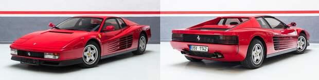 Швейцарцы анонсировали рестомод Ferrari Testarossa