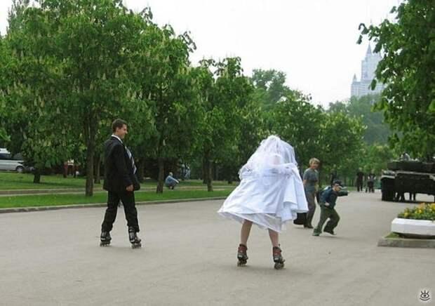 Прикольные свадебные торжества 21