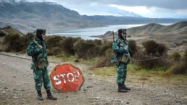 В Азербайджане двое военных погибли при перестрелке на границе с Ираном