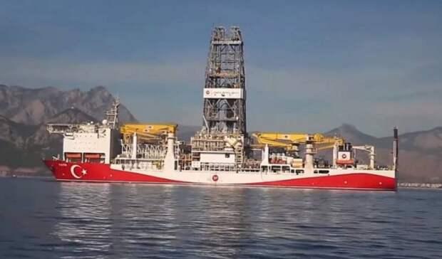 Провокацией назвали США поиск Турцией месторождений вВосточном Средиземноморье