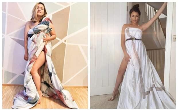 Платье из одеяла: новый тренд покоряет Инстаграм