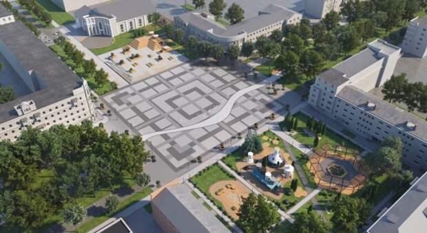 Новомосковску добавили на площадь еще 10 миллионов