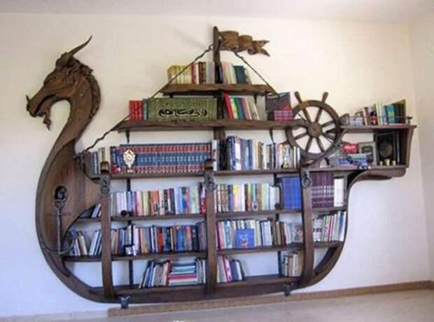 Креативные полки и шкафы