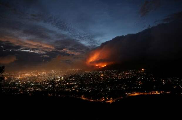 Природный пожар в США уничтожил 10-14% гигантских секвой в мире