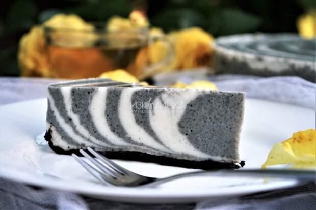"""Рецепт желейного торта """"Зебра"""""""