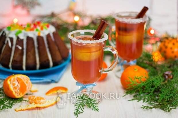 Фото рождественского безалкогольного пунша