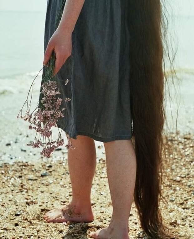 Тогда-то друг её матери и посоветовал ей перестать мыть голову Фрэнки Клуни, в мире, волосы, люди, рапунцель, уход