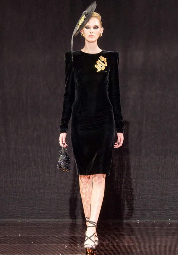 Черное платье Гуо Пей