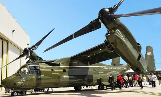 Внутри нового вертолета президента США: устройство Борта номер 1 попало на видео