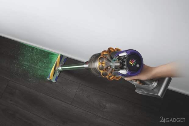Анонсирован беспроводной пылесос Dyson V15 Detect с лазерным наведением на мусор