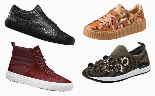 Хотим их все! 20 пар самых модных икрутых кроссовок осени