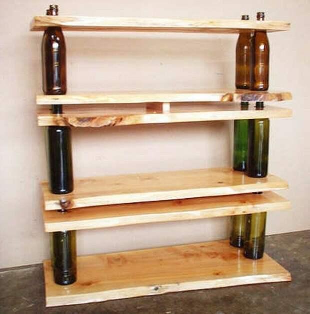 Отличное решение из подручных материалов без особых усилий. /Фото: archzine.net